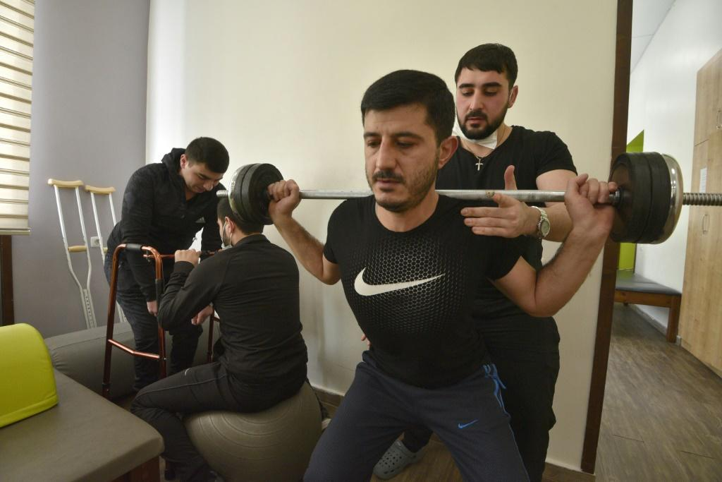 The health ministry has said that some 600 soldiers are disabled and around 150 require prosthetics