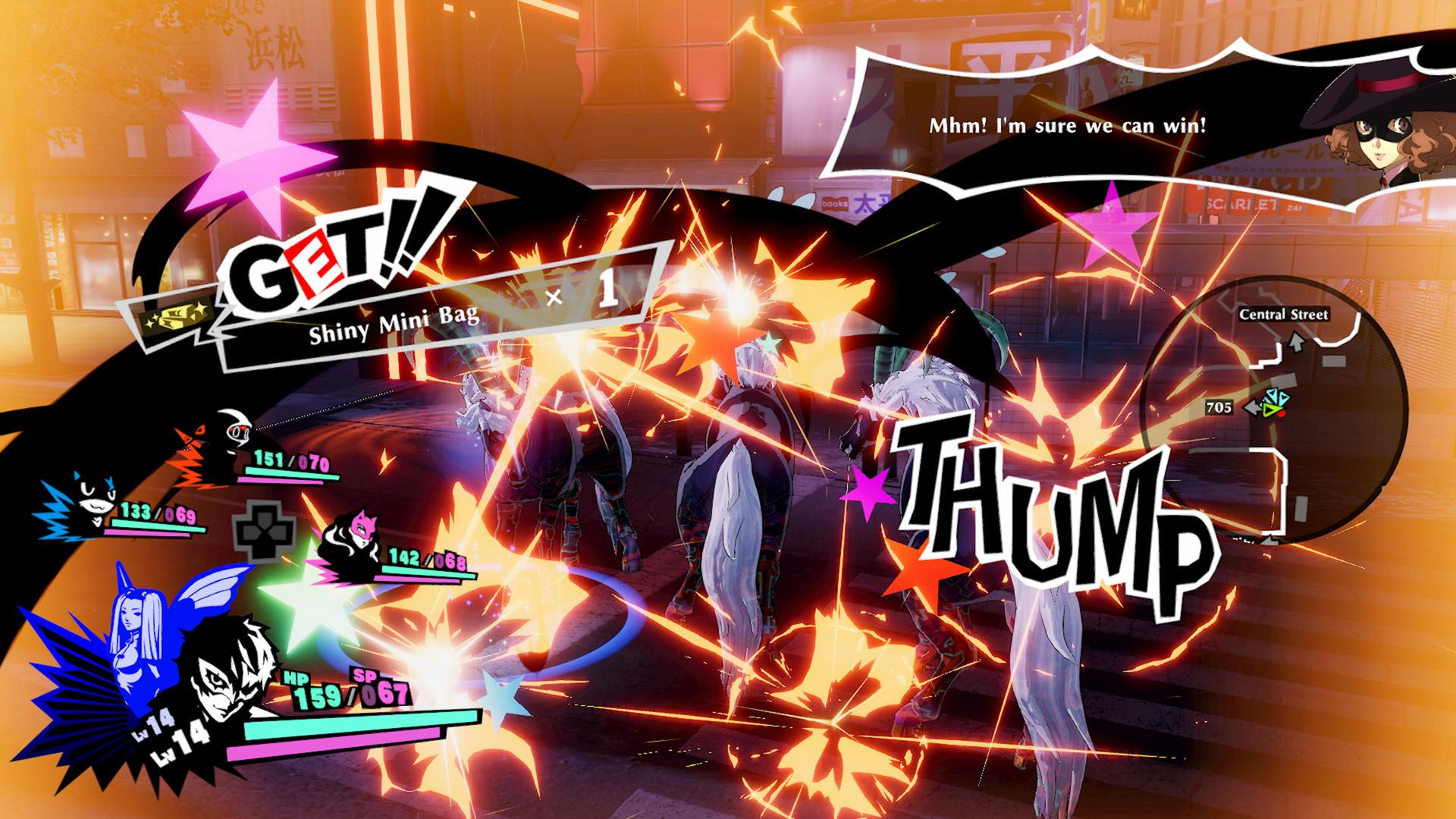The All-Out Attack makes a reappearance in the Musou-style spin-off Persona 5 Strikers