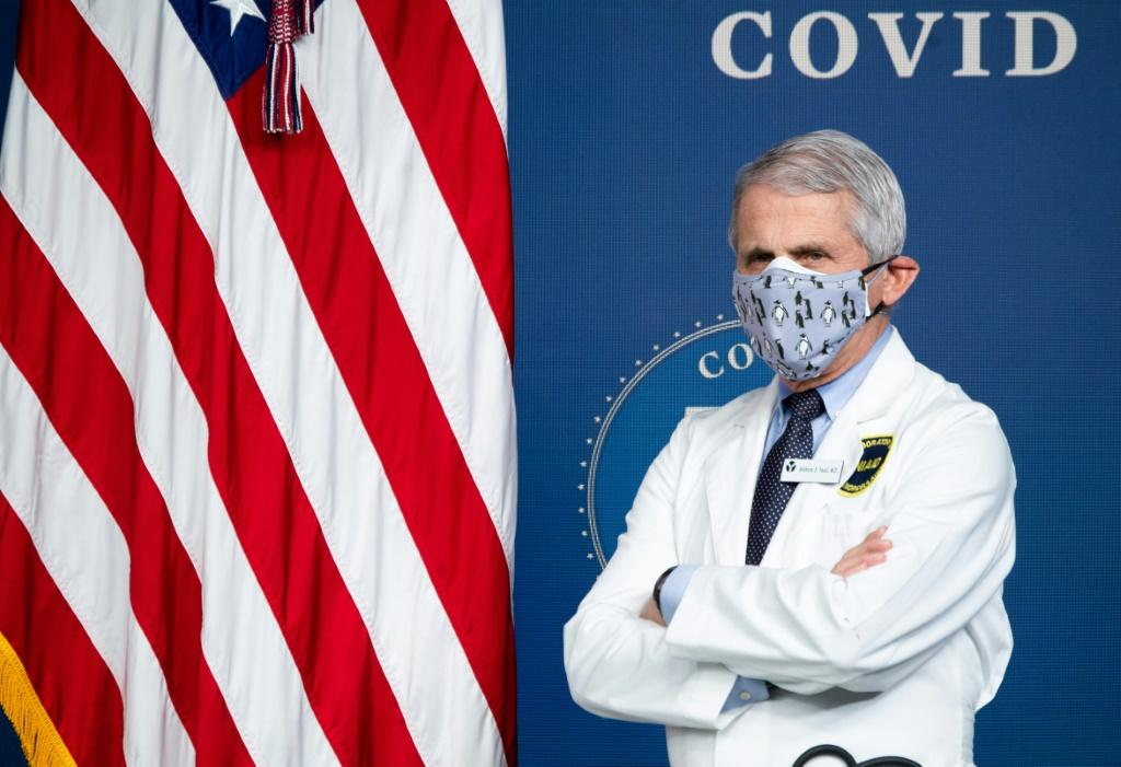 Top pandemic advisor Anthony Fauci says US authorities are considering cutting social distancing rules to three feet (one metre), from the widely accepted six-foot global guideline