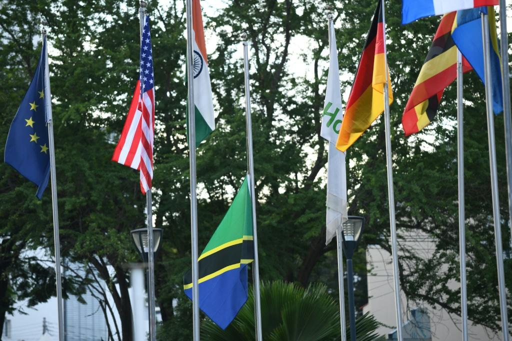 Flags flew at half-mast as the country began a 14-day mourning period