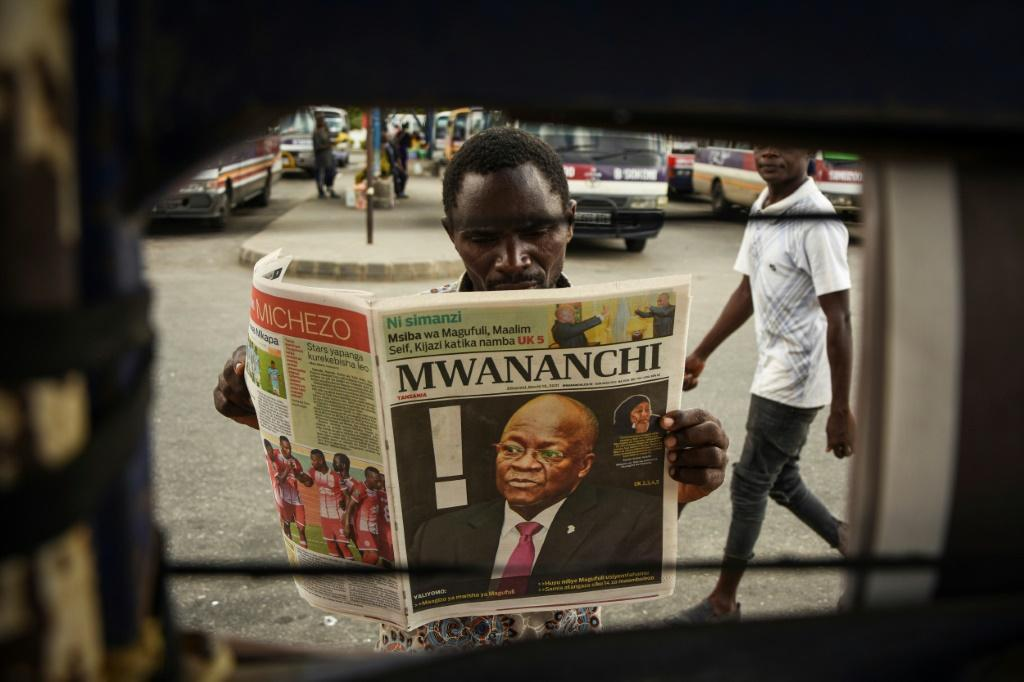 Magufuli was first elected in 2015 as a corruption-busting man of the people, endearing him to a population weary of graft scandals