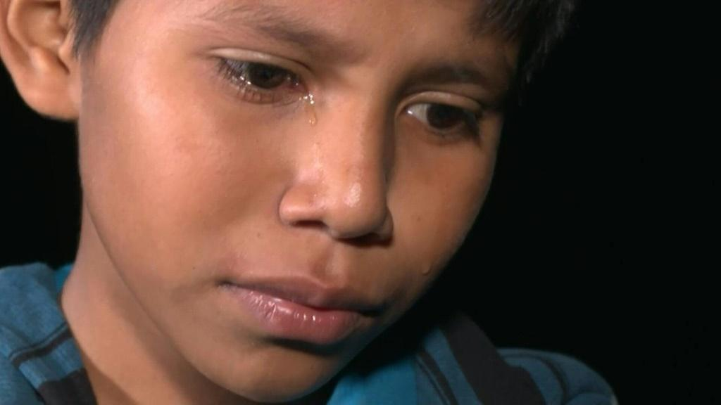 Dozens of migrants arrive in Texas by crossing the Rio Grande River, after a long and perilous journey to Mexico. Among them, 12-year-old Oscar travelled alone from Guatemala
