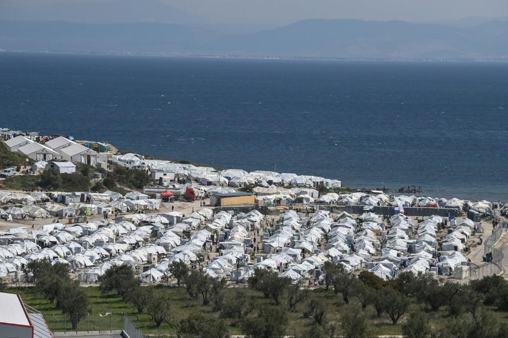 The EU plans to fund a new migrant camp to replace the makeshift replacement for Moria, destroyed by fire in 2020