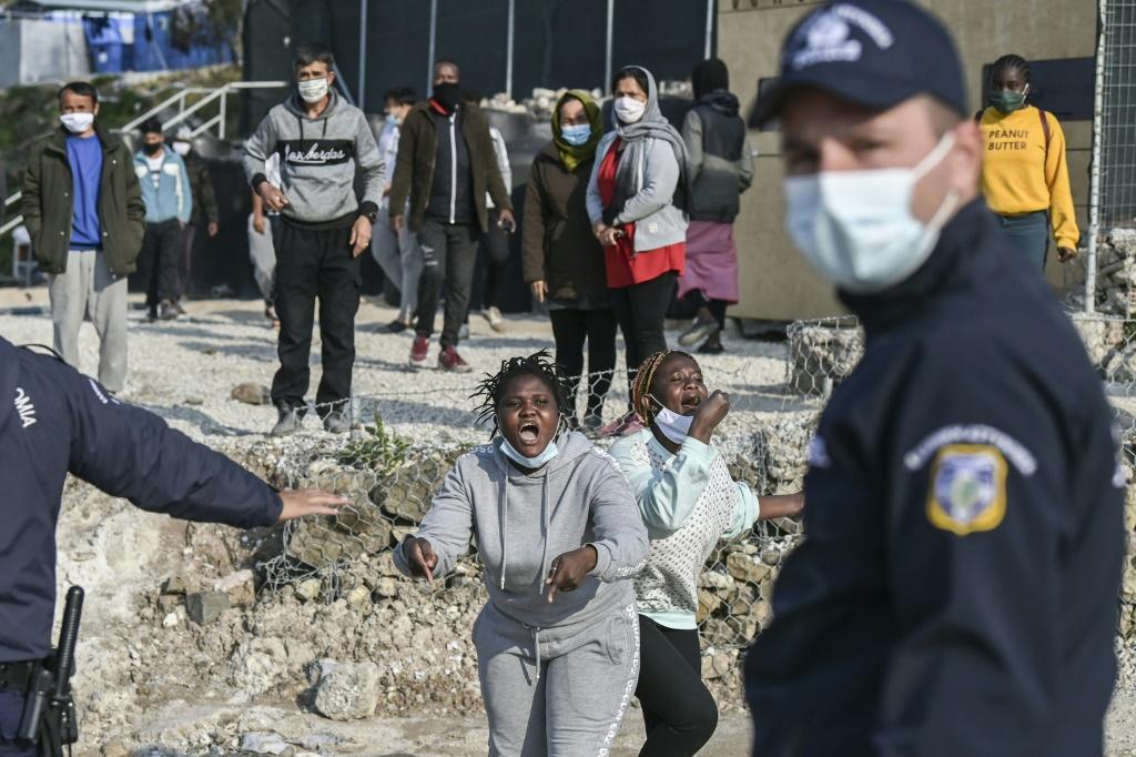 There are still more than 8,000 asylum-seekers on the island