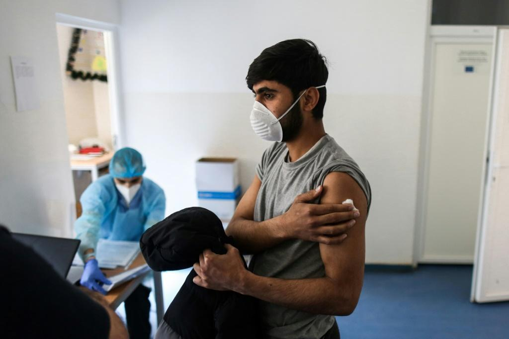 With jabs in abundance, last week Serbia took the highly unusual step of offering foreign citizens the chance to apply to have the shot. Migrants have also been offered the vaccine