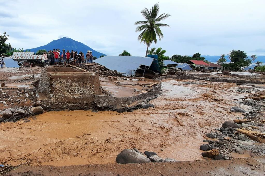 Torrential rains from Tropical Cyclone Seroja, one of the most destructive storms to hit the region in years, turned small communitiesinto wastelands of mud