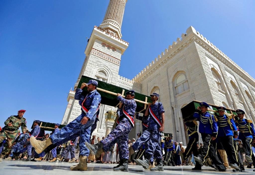 As casualties have mounted in their bloody drive on the strategic northern city of Marib, Yemen's Iran-backed rebels have turned to the one form of music they allow -- lyric poetry -- to rouse patriotic spirits