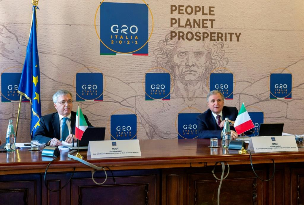 Post-pandemic recovery plans, increasing help for poor countries and a global corporate tax are on the agenda of the virtual G20 meeting hosted by Italy.