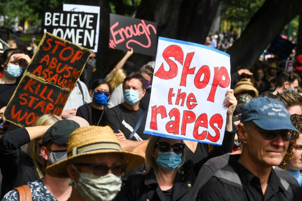 Recent rape allegations sparked nationwide protests in Australia, with tens of thousands of women marching to call for gender equality and an end to sexual violence