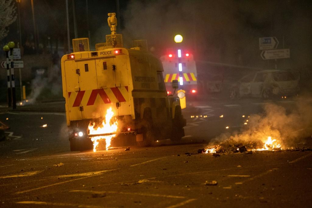 The unrest in Belfast is the worst in recent years
