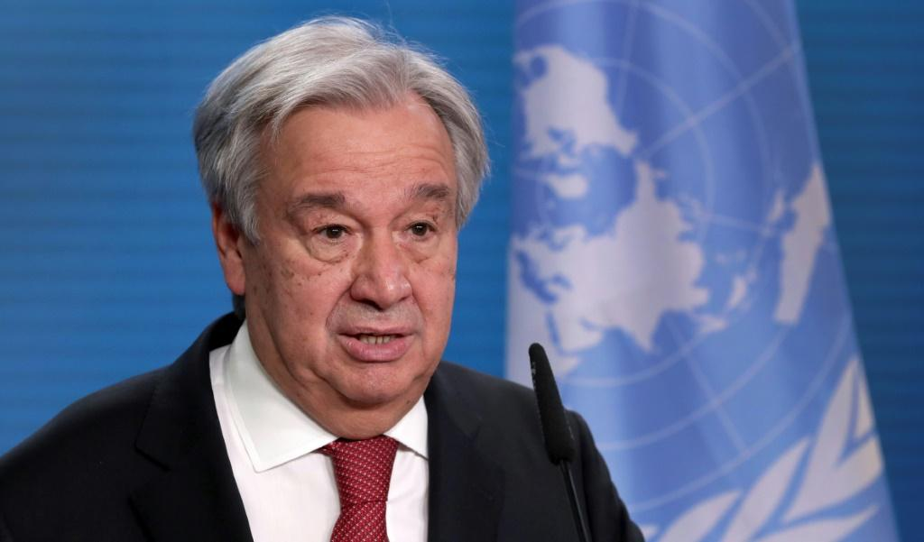 UN Secretary-General Antonio Guterres wants all the world's countries to sign a treaty banning anti-personnel mines
