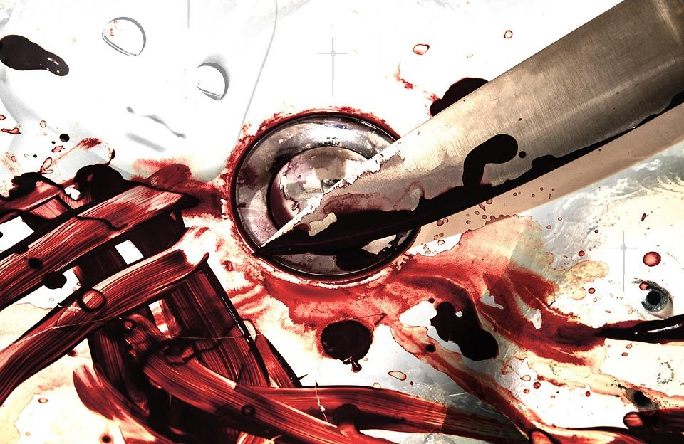 bloody knife