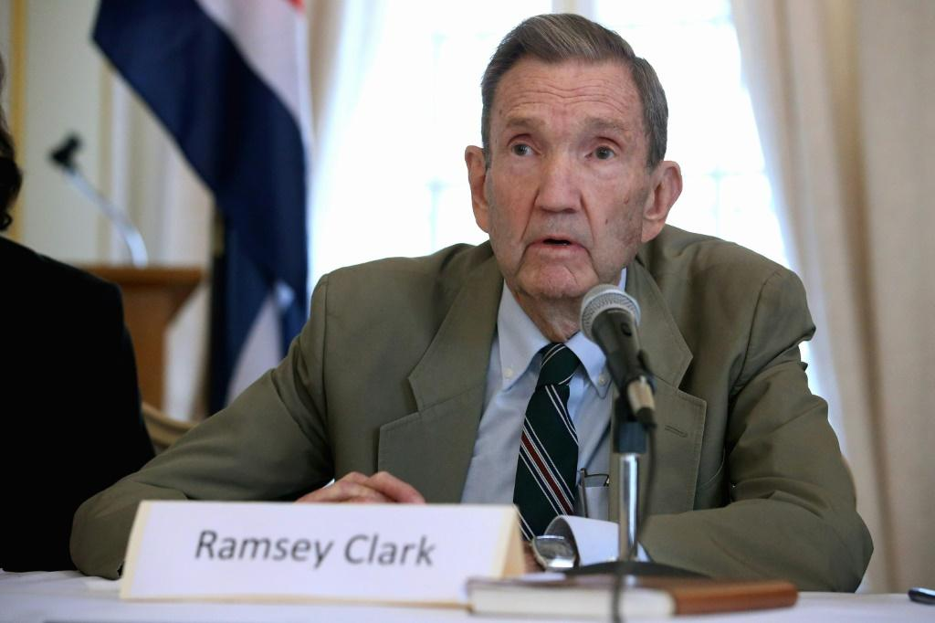 Former US attorney general Ramsey Clark has died at 93