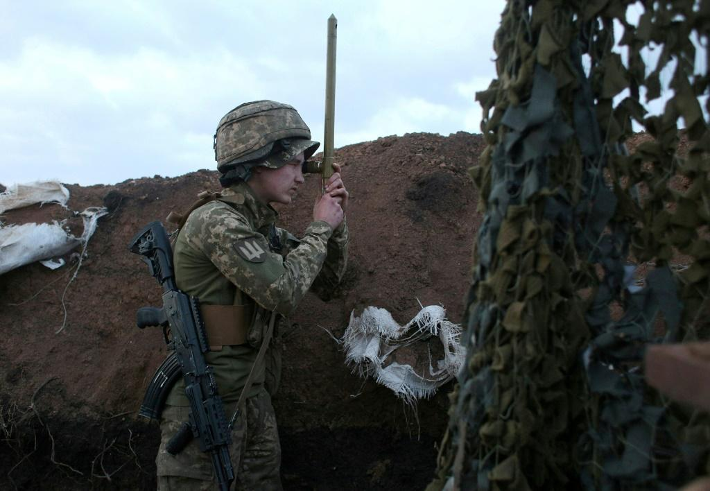 Ukraine fears a Russian military buildup on its border