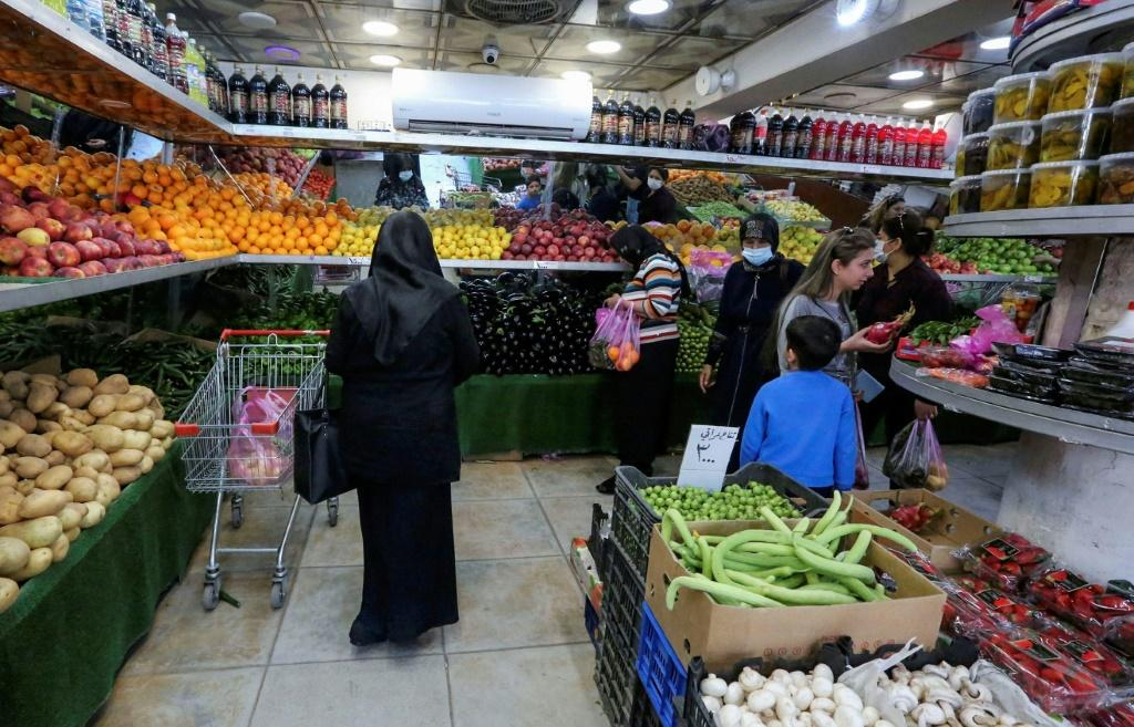 Iraqis are bemoaning the rising cost of living as they stock up on food ahead of the fasting month of Ramadan during which families get together for iftar meals after sunset