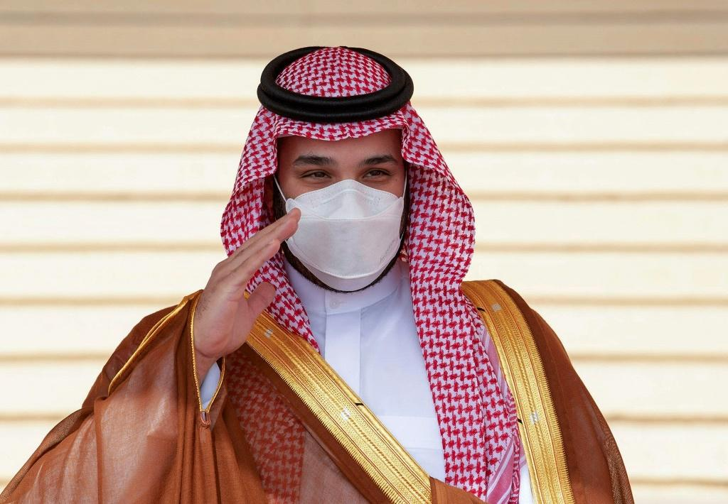 Saudi Crown Prince Mohammed bin Salman, also known as MBS