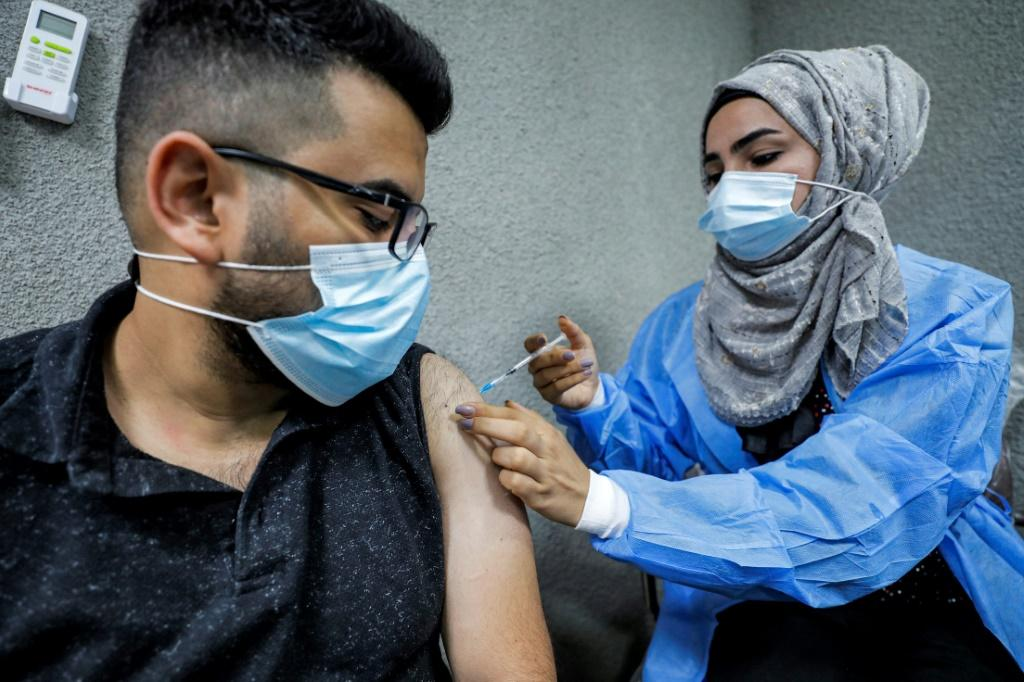 More than 820 million doses of the vaccine have now been administered globally