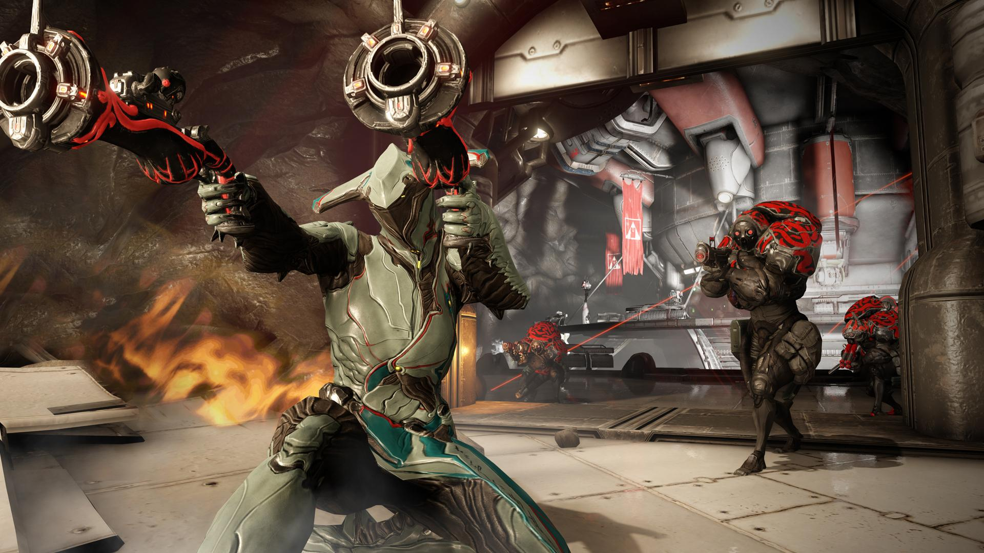 Warframe is a fast-paced sci-fi shooter with a heavy emphasis on melee and mobility