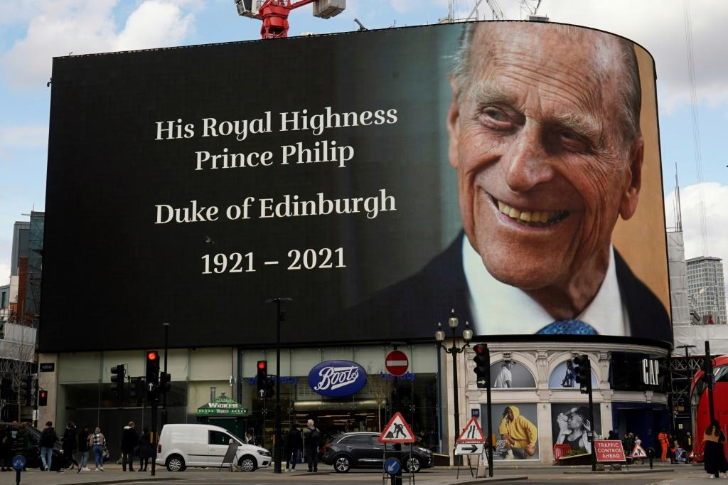 Prince Philip was described by royals as the 'father of the nation'
