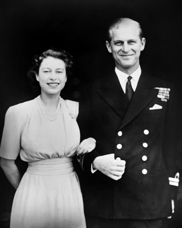The then Princess Elizabeth and Prince Philip were engaged in July 1947