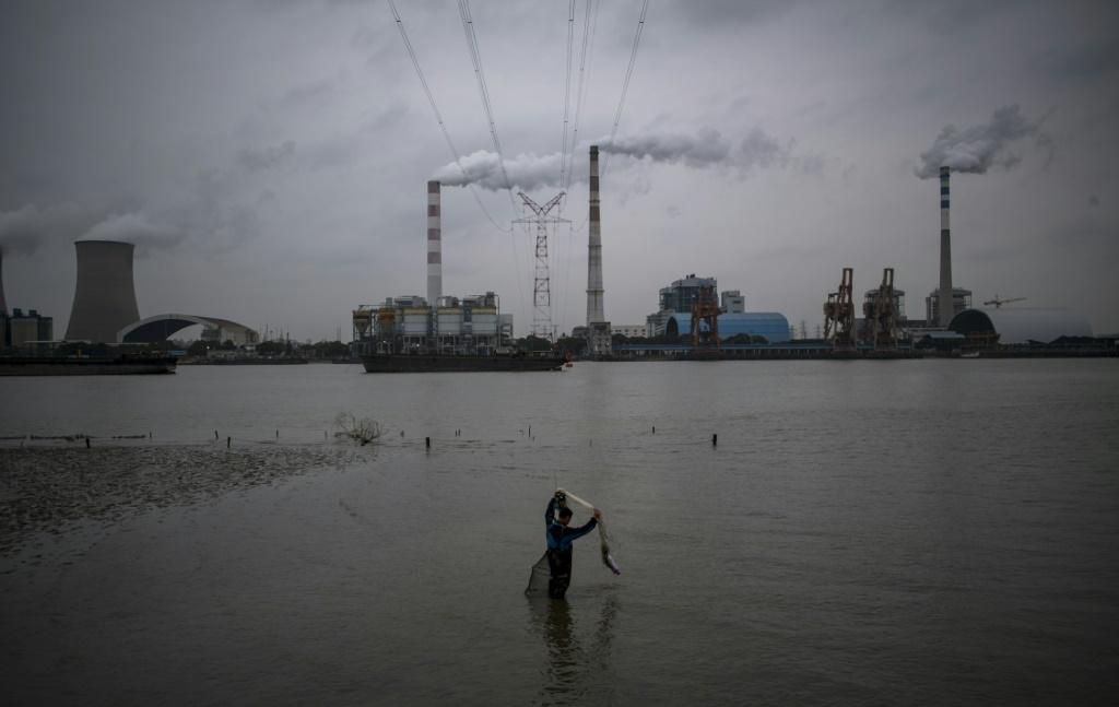 The Wujing Coal-Electricity Power Station in Shanghai. Each year China and America spew out more than half of the greenhouse gases linked to global warming