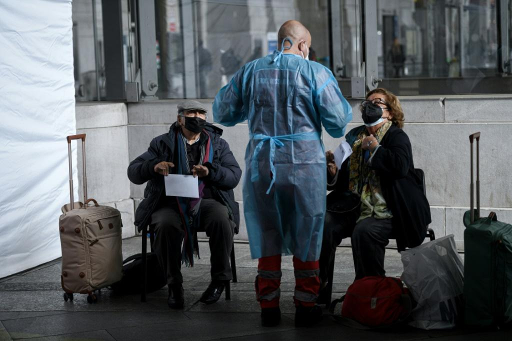 Italy, which has started coronavirus-free train journeys between Milan and Rome, will ease coronavirus restrictions for schools and restaurants from April 26