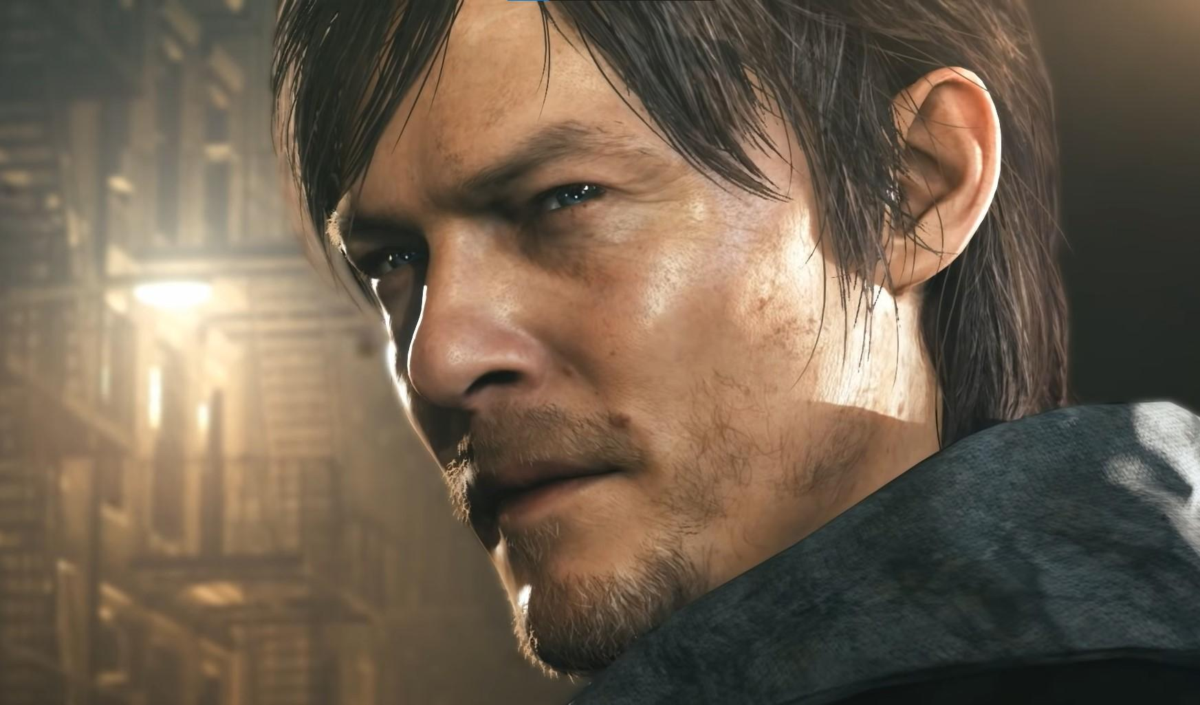 Norman Reedus in the now-cancelled Silent Hills game