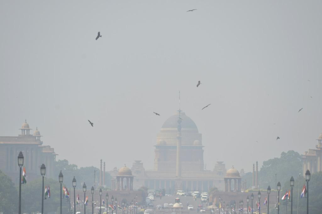 New Delhi, pictured here in October 2019, is one of the world's most polluted cities
