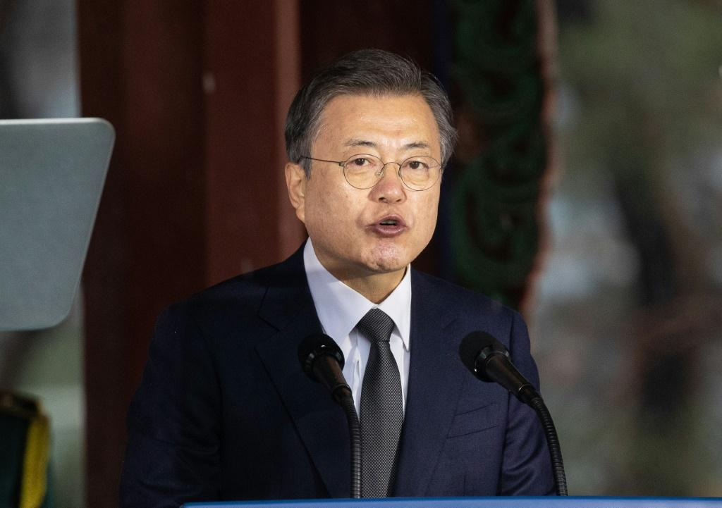 South Korean President Moon Jae-in wants US President Joe Biden to engage directly with North Korea over nuclear issues