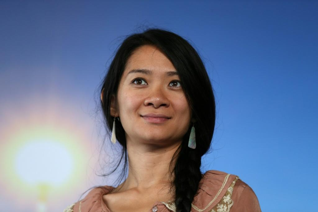 """Beijing-born director Chloe Zhao is seen as the frontrunner for the best director Oscar for her road movie """"Nomadland"""