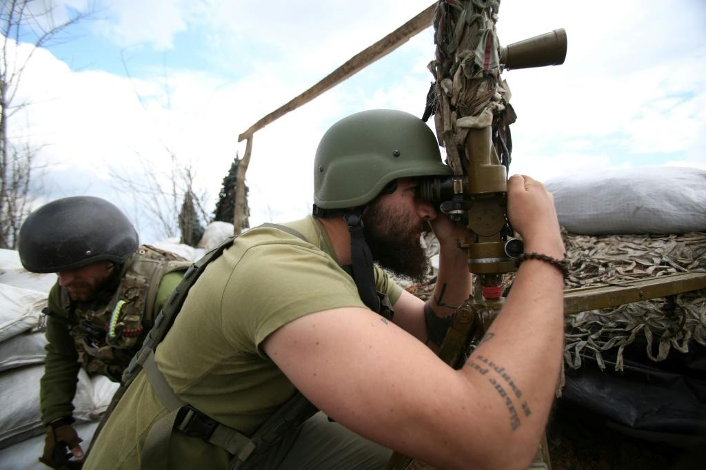 Kiev has been battling pro-Russian separatists in the eastern Donetsk and Lugansk regions since 2014