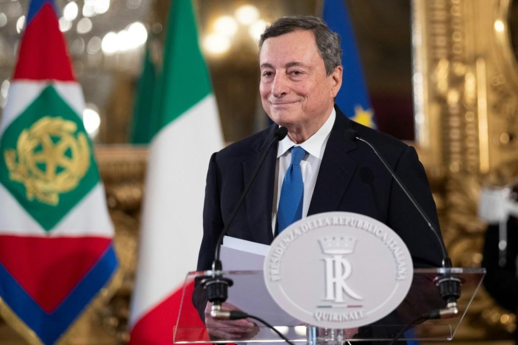 Former European Central Bank chief Mario Draghi hopes to press through reforms to Italy's creaking economy