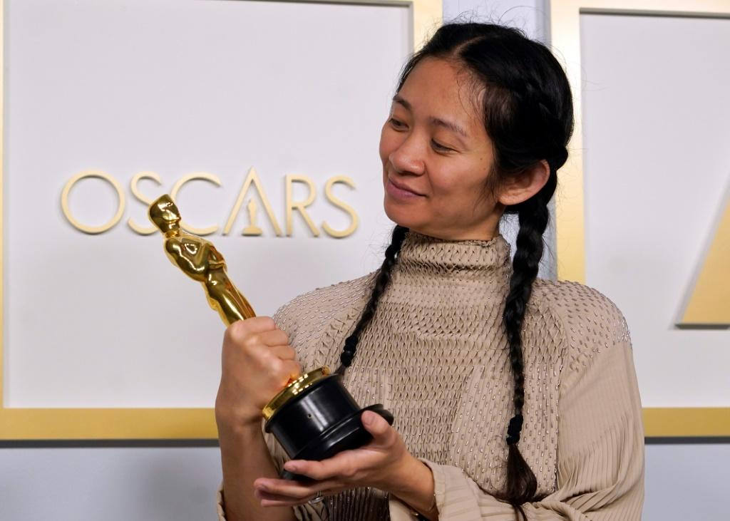 "A less familiar crop of nominees were competing at the 2021 Oscars ceremony, where Chloe Zhao's ""Nomadland"" was the big winner"