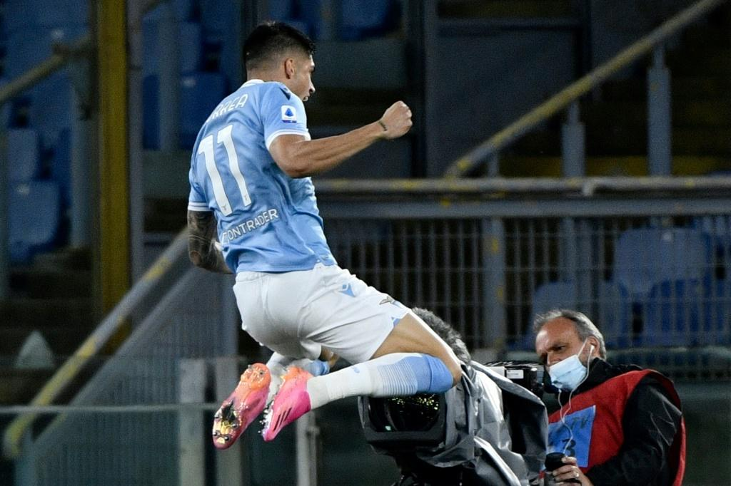 Joaquin Correa has six Serie A goals after his double against AC Milan