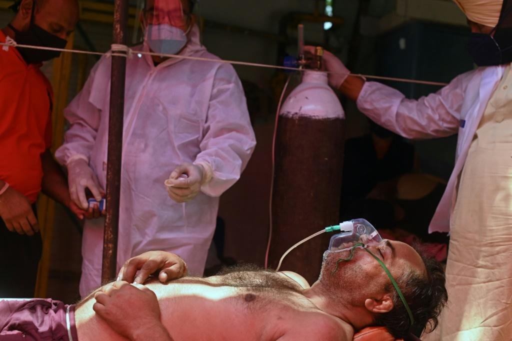 Infections and death rates are soaring in India