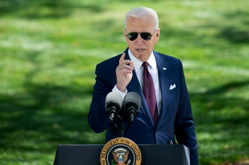 US President Joe Biden has hailed his country's vaccine rollout