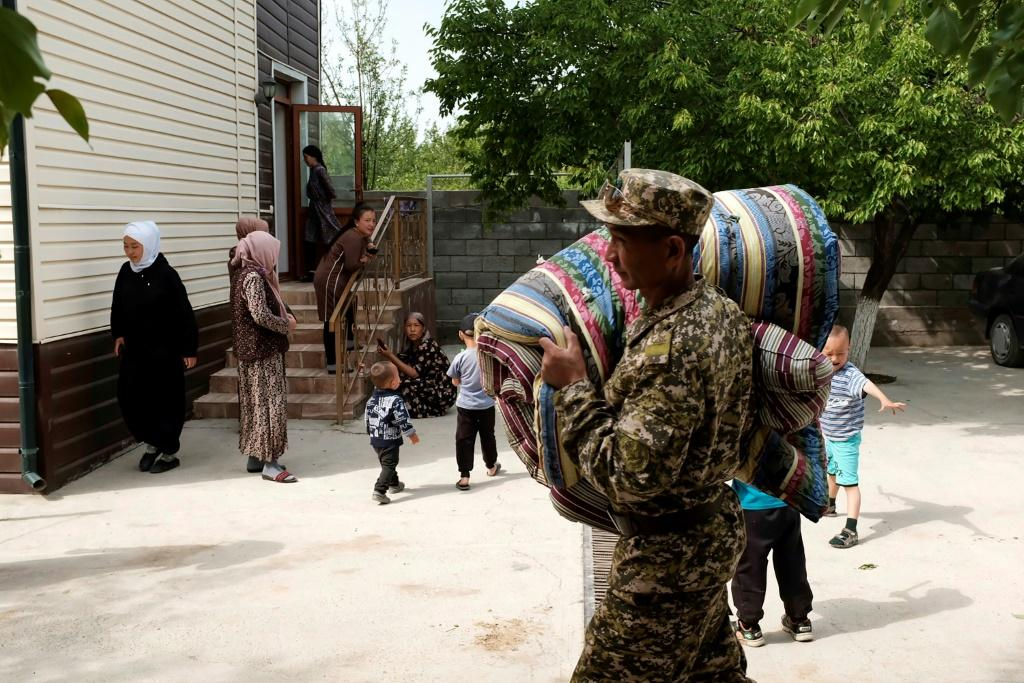 Kyrgyzstan sent servicemen to help after the outbreak of violence