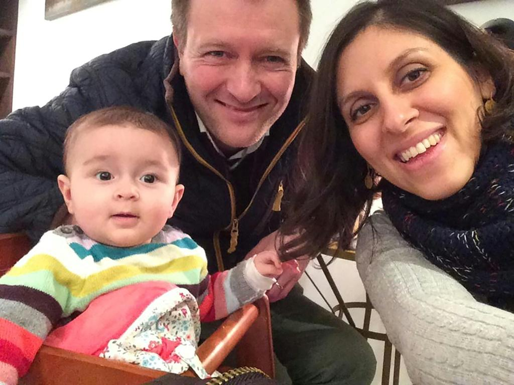 Zaghari-Ratcliffe was initially detained while on holiday in Iran in 2016