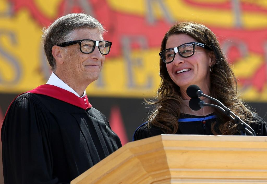 """In the case of Melinda, it is truly an equal partner,"""" Microsoft founder and chairman Bill Gates said of his wife (pictured June 2014)"""