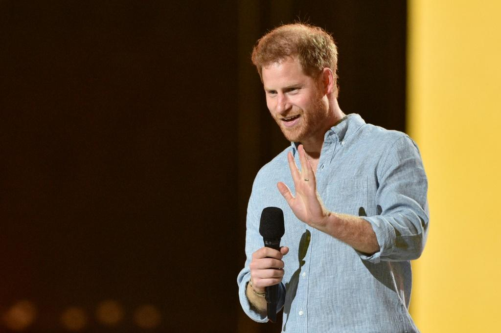 Prince Harry joined pop royalty for the 'Vax Live' fundraising concert in Los Angeles to promote global vaccinations against Covid-19