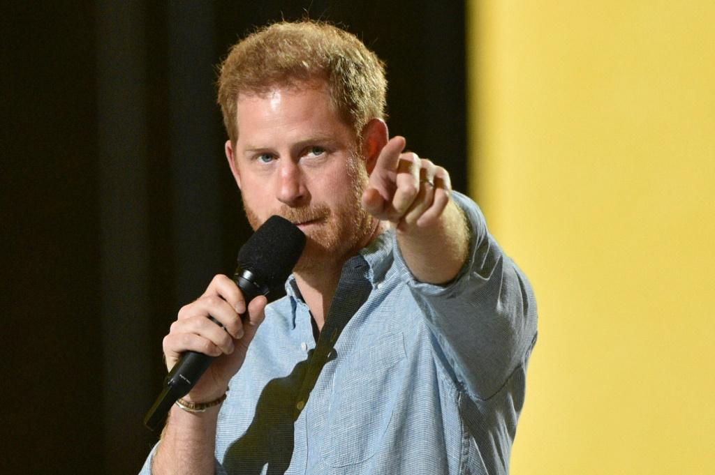 Prince Harry joined pop royalty including Jennifer Lopez at a star-studden concert in Los Angeles