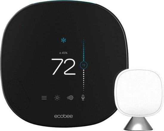 smart thermostat Ecobee with voice control
