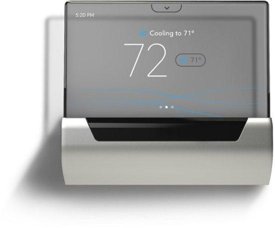 smart thermostat GLAS smart programmable touchscreen thermostat