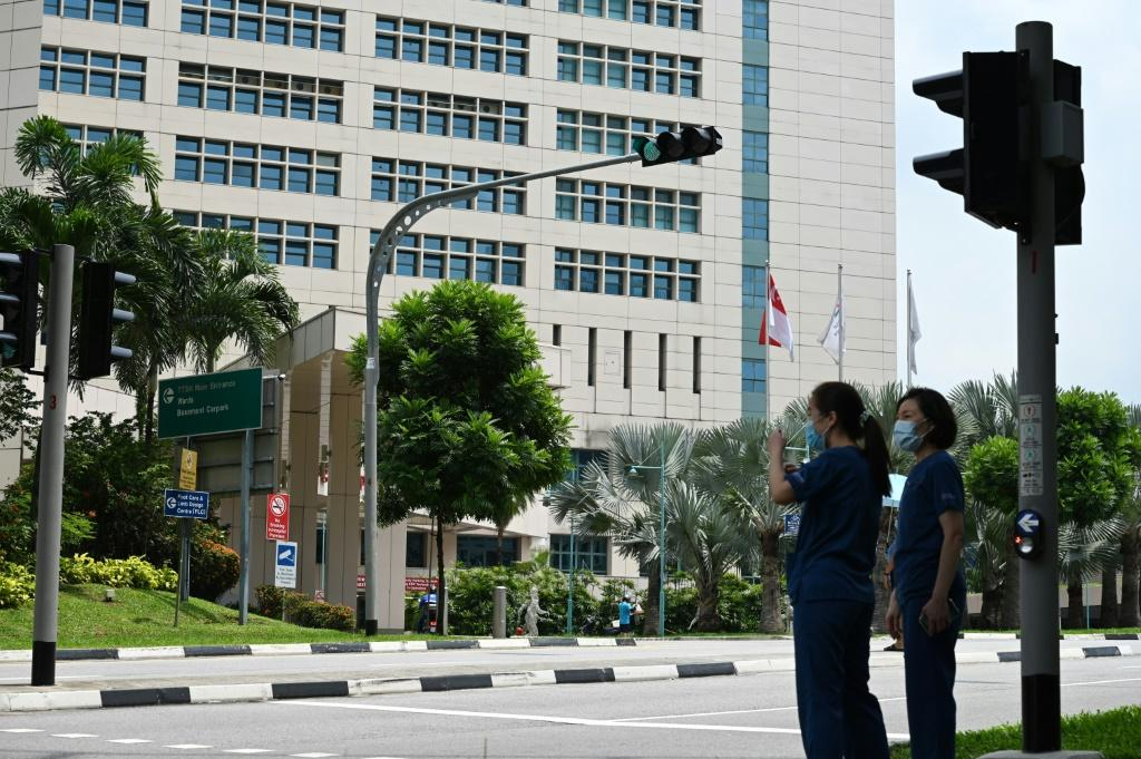 A coronavirus cluster at one of Singapore's biggest hospitals has grown to 40 cases