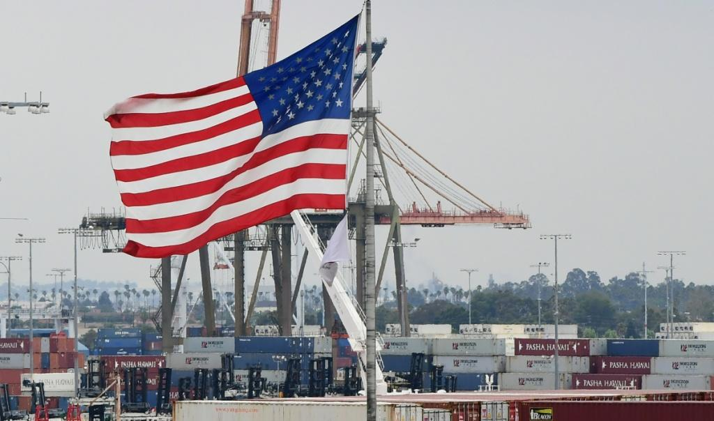 The record-high US trade deficit is viewed as a consequence of the country's rapid economic recovery from the Covid-19 pandemic