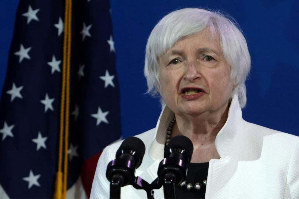 """US Treasury Secretary Janet Yellen said there may need to be a """"very modest"""" rise in interest rates to keep the economy from overheating"""