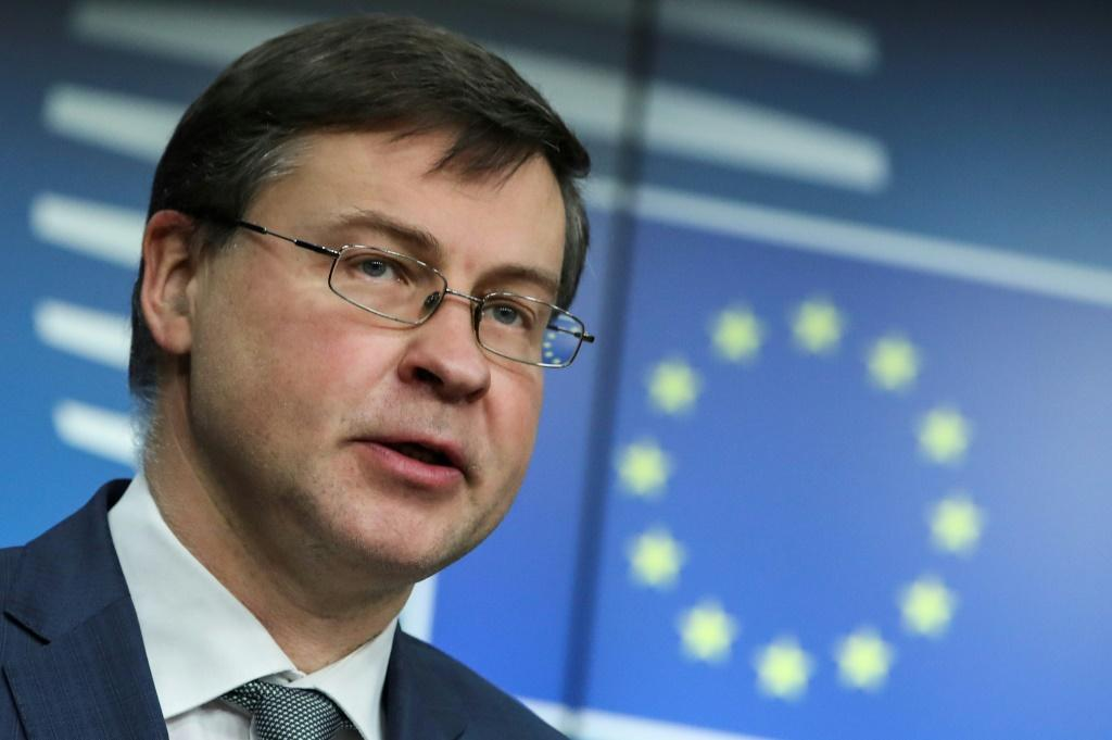 """We now in a sense havesuspended... political outreach activities from the European Commission side,"""" EU Executive Vice President Valdis Dombrovskis told AFP in an interview about efforts to win approval for the EU's investment deal with China"""