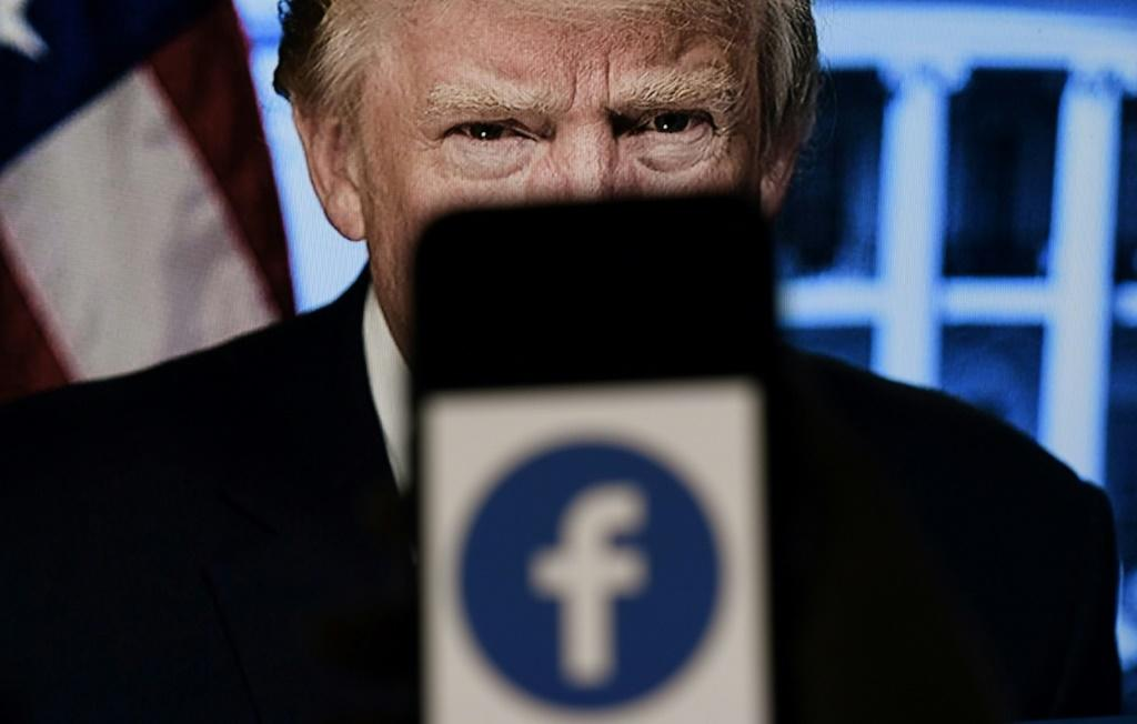 """Donald Trump was suspended from Facebook and Instagram after he posted a video during the deadly January 6 rampage by his supporters at the US Capitol in which he stated: """"We love you, you're very special"""