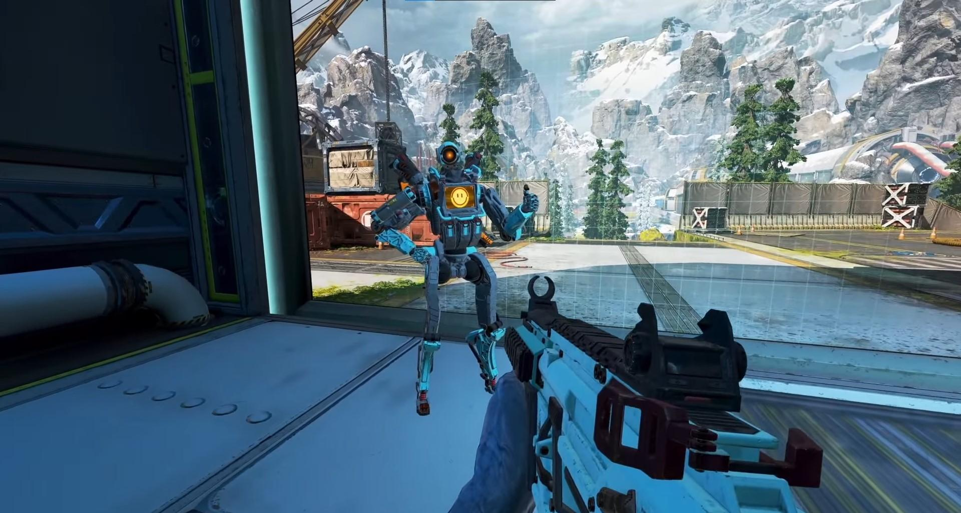 Work with your squad and be the last team standing in Apex Legends