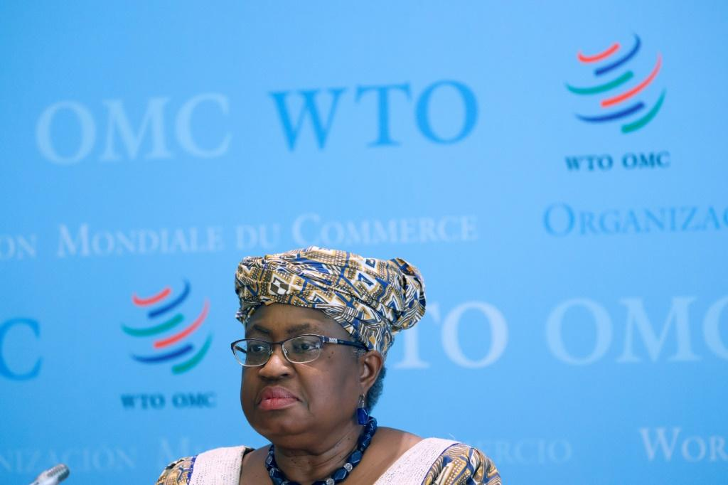 """World Trade Organisation Director-General Ngozi Okonjo-Iweala (pictured April 2021) told country representatives that the way the WTO handles ensuring equal access to Covid-19 vaccines is """"critical"""